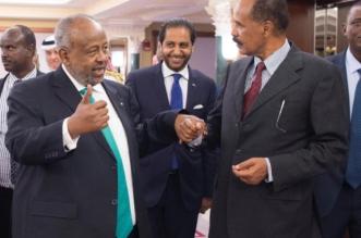 استجابة لدعوة الملك سلمان .. رئيسا جيبوتي وإرتيريا يعقدان لقاءً تاريخياً في جدة - المواطن