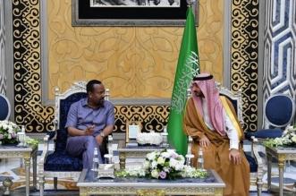 رئيس وزراء إثيوبيا يصل إلى جدة وعبدالله بن بندر في استقباله - المواطن