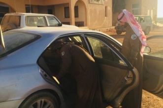 سقوط مهرب عمالة مخالف في محمية الملك سلمان - المواطن