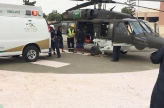 طيران الأمن يُنقذ شابًّا بعد فك احتجازه في وادي قران - المواطن