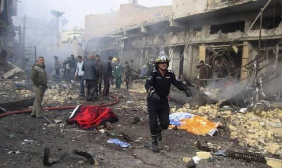 انفجار قنبلة في بغداد يقتل ويصيب خمسة مدنيين