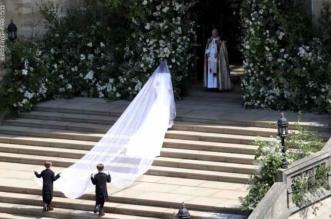 سر الشيء الأزرق.. ماذا خبأت ميغان ماركل في فستان زفافها؟! - المواطن