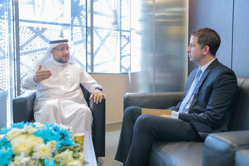 وفد أمريكي يزور الهيئة السعودية للملكية الفكرية لبحث أوجه التعاون
