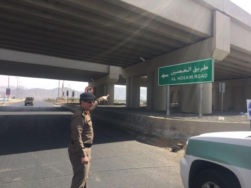 إلغاء الإشارة الضوئية بشارع الحصين لتسهيل الحركة المرورية في نجران