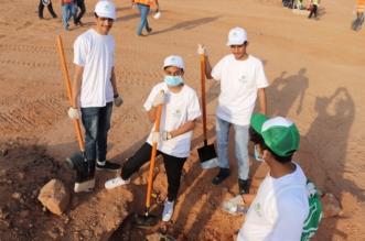 2000 متطوع ومتطوعة يزرعون أشجار في ٦ مواقع بالرياض - المواطن