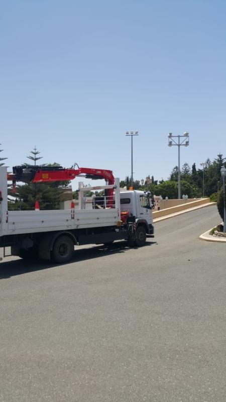 صيانة وإحلال 544 عمود إنارة في أبها - المواطن