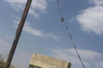 بالصور.. أسلاك الكهرباء تتربص بالأهالي في الحرجة - المواطن