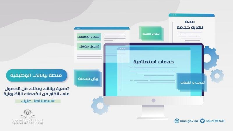الخدمة المدنية تطلق منصة بياناتي الوظيفية هذه أهدافها صحيفة المواطن الإلكترونية