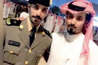 الملازم ابن هزاع يحتفل بتخرجه من كلية الملك فهد الأمنية - المواطن