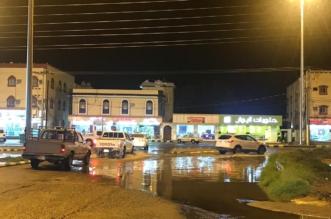 أمطار غزيرة شمال محايل .. والمدني يحذر الجميع - المواطن