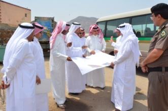 بعد زيادة الحوادث المرورية .. إغلاق دوار السنابل في محايل - المواطن