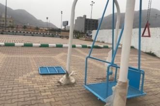 صور.. العبث يحطم ألعاب ذوي الاحتياجات الخاصة في محايل والبلدية تتوعد - المواطن