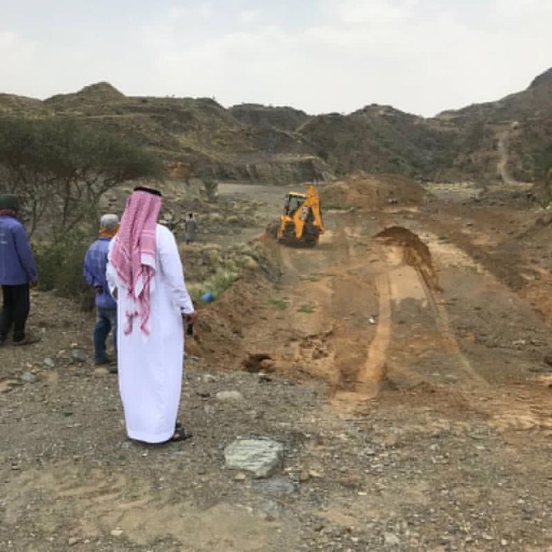 استعادة 40 ألف متر من الأراضي الحكومية في قنا - المواطن