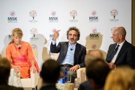 مسك الخيرية تشارك في منتدى بلومبيرغ العالمي للأعمال
