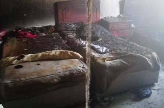حريق غرفة نوم يصيب رجلًا و3 أطفال ويخلي 32 شخصًا بالدمام - المواطن