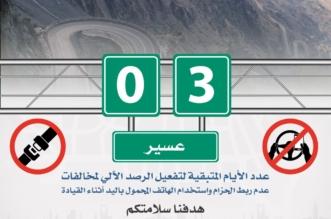 3 أيام على الرصد الآلي لمخالفتي حزام الأمان واستخدام الجوال بعسير - المواطن