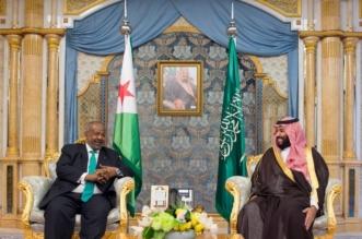 شاهد.. ولي العهد يبحث تطوير العلاقات الثنائية مع رئيس جيبوتي - المواطن