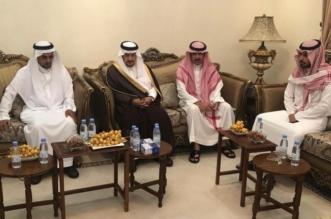أمير الرياض يواسي أسرة الشهيد النقيب آل بريك - المواطن