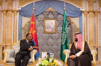 ولي العهد يستعرض المستجدات الإقليمية وتعزيز التعاون مع رئيس إريتريا - المواطن