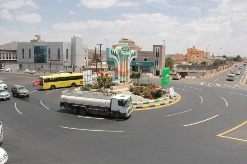 تدشين مسار الطريق المحوري في المنطقة المركزية في سراة عبيدة
