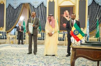 الملك يشهد توقيع اتفاقية جدة للسلام وينهي عقودًا من الصراع بين إثيوبيا وإريتريا - المواطن