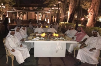مأدبة عشاء تجمع ولي العهد ومحمد بن زايد والفيصل في الطائف - المواطن