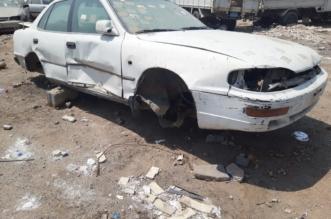 أحياء جنوب الرياض تعاني من السيارات التالفة - المواطن