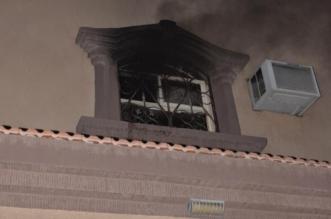بداية الحريق من مفتاح المكيف والنهاية إصابة طفل في حائل - المواطن