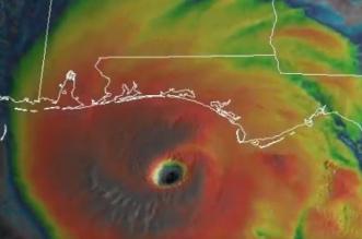 فيديو.. هكذا يبدو إعصار مايكل من الفضاء وترامب: كلنا مع فلوريدا - المواطن