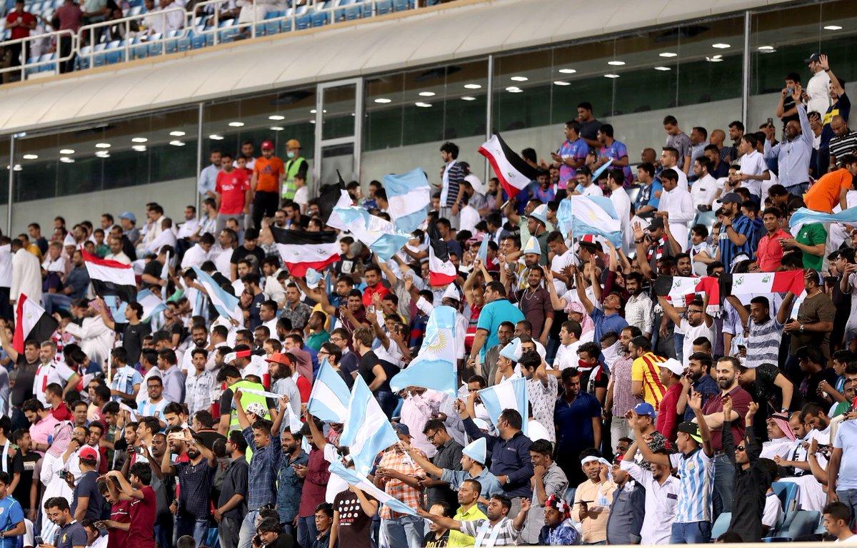 الجماهير تُشعل أجواء مباراة العراق والأرجنتين