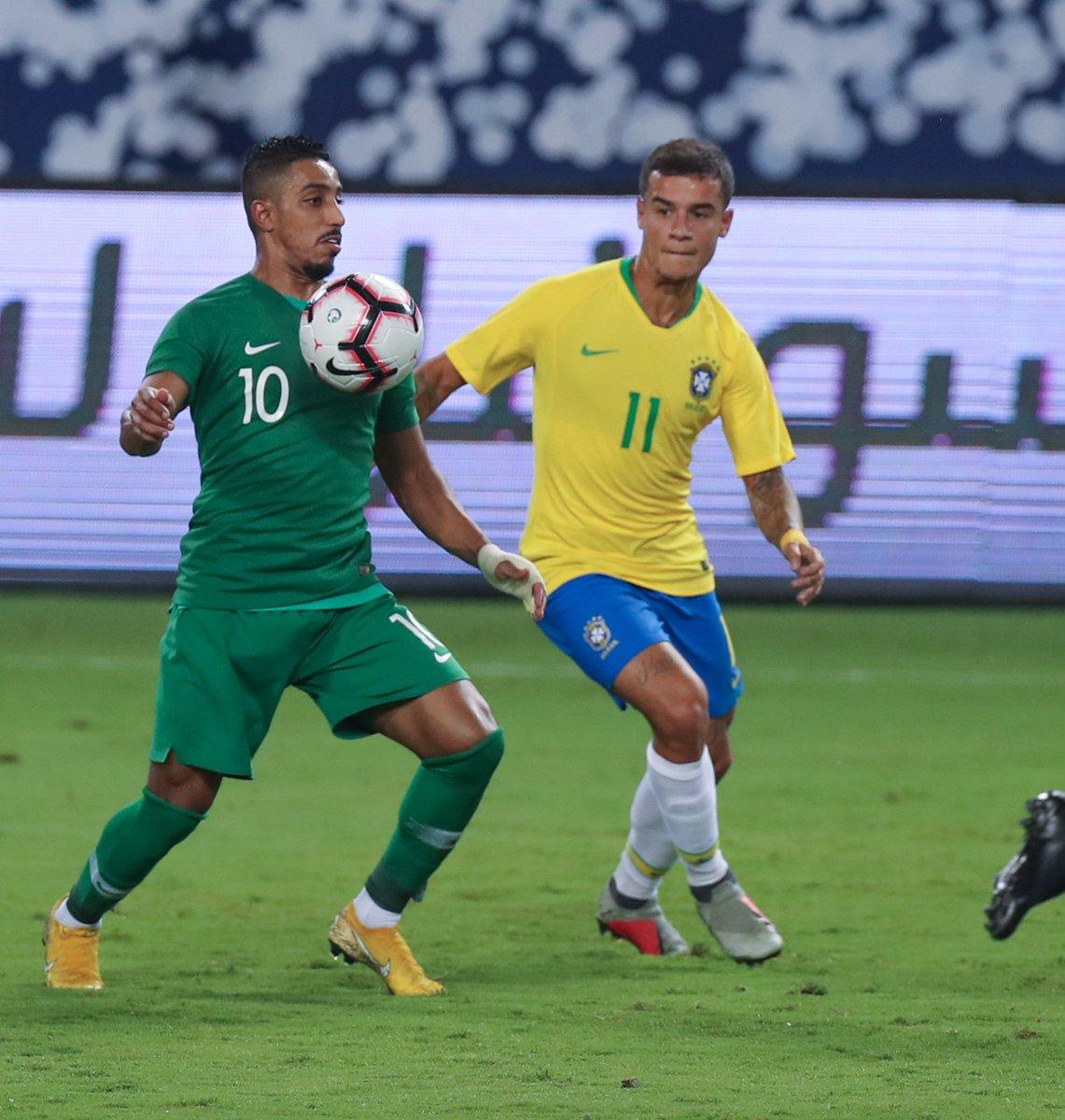 الأخضر في عيون الصحف العالمية: قدم مباراة قوية وأرهق البرازيل