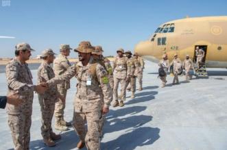 صور.. القوات السعودية تصل مصر للمشاركة في تمرين درع العرب 1 - المواطن