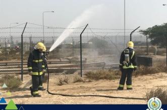 صور.. عزل تسريب محدود لغاز إيبو كلورو هيدرين في الجبيل الصناعية - المواطن
