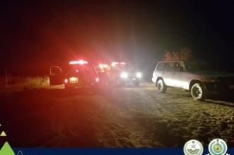إنقاذ 4 أشخاص بينهم طفل ومسن علقوا داخل سيل وادي الخمرة - المواطن