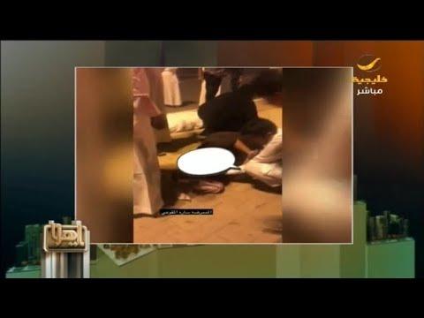 فيديو.. ممرضة سعودية تنقذ 3 مصابين في حادث مروري