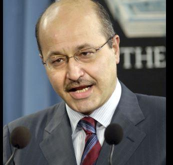 برهم صالح الكردي المعتدل يفوز برئاسة العراق