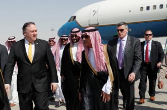 صقر ترامب مايك بومبيو في السعودية - المواطن