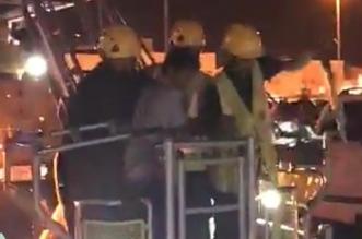 تدخل مدني الرس ينقذ شابًّا تسلق برج اتصالات - المواطن