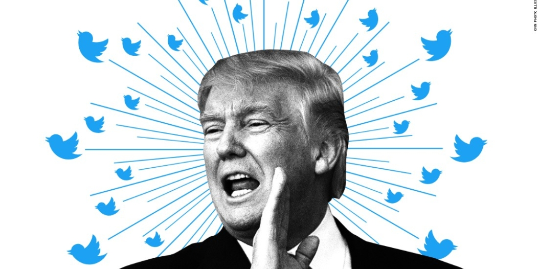 ترامب وتويتر.. ضحك ولعب وجد وحب !