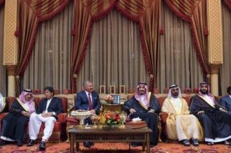 الملك يستقبل عاهل الأردن ومحمد بن راشد ورئيسي وزراء باكستان وإثيوبيا - المواطن