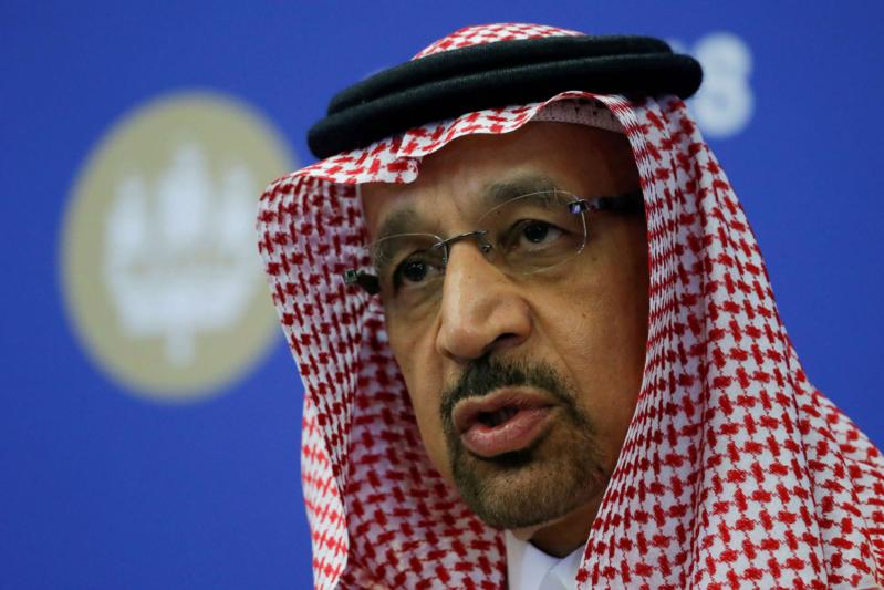 خالد الفالح: المملكة ستخفض إنتاج النفط لـ9.8 مليون برميل