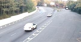 فيديو.. لحظة تعرض سائق دراجة نارية لحادث دهس مروع - المواطن