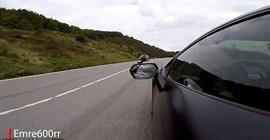 فيديو.. راكب دراجة نارية ينجو من الموت باللحظة الأخيرة بسبب لامبورجينى! - المواطن
