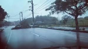 عاصفة قوية تجتاح جنوب غربي اليابان - المواطن
