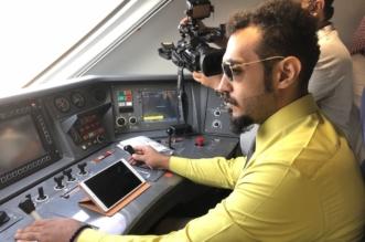 صور.. أول رحلة تشغيل رسمية لقطار الحرمين السريع - المواطن