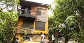 فيديو.. تصوير مشهد سينمائي ينتهي بكارثة - المواطن