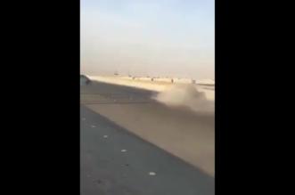 فيديو.. مفحط يتسبب في حادث مروع على طريق سريع - المواطن