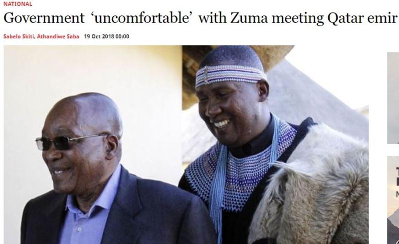 منها حفيد مانديلا.. جنوب إفريقيا ترفض محاولات قطر للتأثير على الشخصيات العامة - المواطن