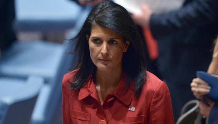 قبل أن تغادر منصبها.. هل تفضح نيكي هايلي جاسوس تنظيم الحمدين ؟
