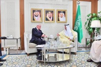 وزير الخارجية يستقبل مبعوث الولايات المتحدة الأمريكية إلى سوريا 1